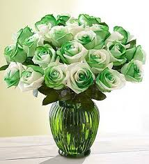 green roses st s day roses 12 24 stems in ny flowers by emil