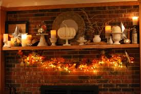 decorations farmhouse style thanksgiving mantel decor featuring