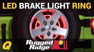 3rd brake light led ring rugged ridge 3rd brake light led ring for jeep wrangler jk youtube