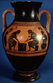 Greek Black Figure Vase Painting Vase Painting In The Archaic Style Sample Course 3 Face To Face