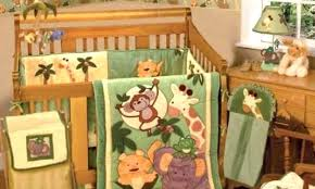 Crib Bedding Jungle Remarkable Jungle Baby Bedding Safari Themed Nursery Jungle Crib