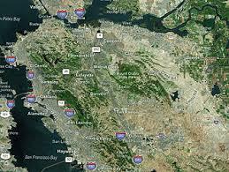 san francisco map east bay east bay san francisco bay area