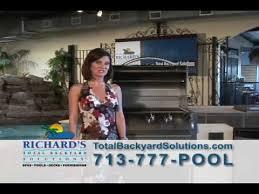 Richards Backyard Solutions by Richard U0027s Total Backyard Houston Texas Youtube