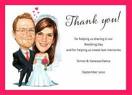 thank you cards wedding buy custom caricature wedding invitations australia personalised