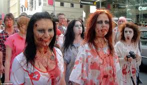 Celebration In Uk Australians Celebrate With Parades And Trick Or