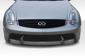 03 07 fits infiniti g coupe d spec duraflex front body kit bumper