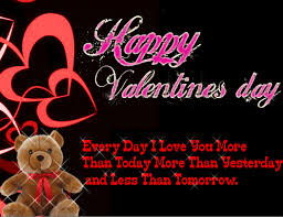 day messages for someone special free valentines day card