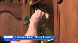 soft close cabinet door damper youtube