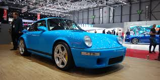 teal porsche ruf creates resto modded 911s that make porsche geeks sweat
