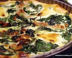 cuisiner epinard frais recette tarte aux épinards frais vache qui rit et pignons