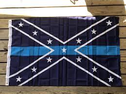 Redneck Flags Confederate Blue Line Flag U2013 Rebel Nation