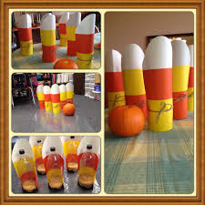 halloween game party fun kids halloween game pumpkin bowling made out of 2 liter