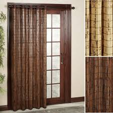 Patio Door Curtain Panel Patio Ideas Patio Door Curtain Panel With Bamboo Sliding Ideas
