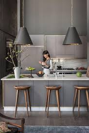 light gray kitchen cabinets kitchen with gray cabinets why to choose this trend decoholic