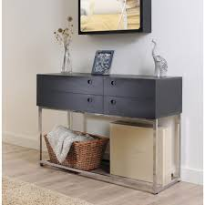 Black Console Table With Drawers Console Tables Contemporary Console Tables With Drawers Table