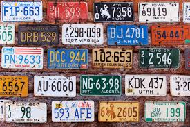 License Plate Usa Map by License Plate Stock Photos Royalty Free License Plate Images And