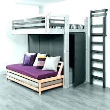 lit en hauteur avec canapé ikea lit mezzanine avec clic clac lit superpose 140 x 190 lit