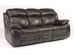 Flexsteel Reclining Leather Sofa Flexsteel Living Room Leather Power Reclining Sofa 1409 62p