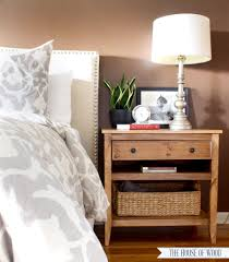 nightstand beautiful modern chic bedroom decor ideas with brown
