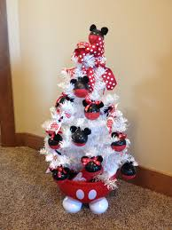 minnie mouse christmas tree christmas lights decoration