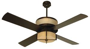 Uplight Ceiling Fans by Cool Hunter Double Ceiling Fans With Integrated Brushed Nickel And