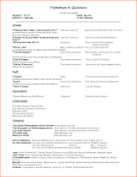 Sample Dance Resume For Audition by Resume Song Free Resume Example And Writing Download