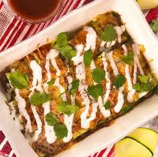 zucchini enchiladas healthy af tastemade