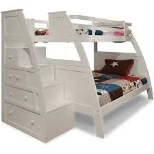 Bunk Bed Stairs Sold Separately Buy Canwood Overland Twin Over Full Bunk Bed With Built In Stair
