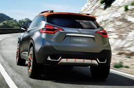 nissan kicks 2017 red nissan kicks suv concept debuts in sao paulo
