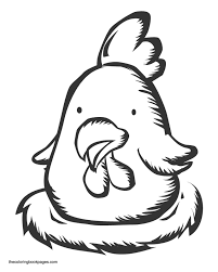 cute baby bird coloring pages download animal pictures of cute