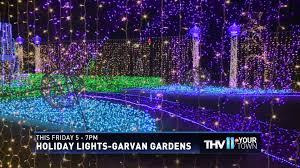 garvan gardens christmas lights 2017 thv11 thv in your town garvan gardens 2015 youtube