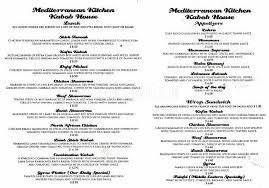 Spices Mediterranean Kitchen - mediterranean kitchen kabob house menu urbanspoon zomato