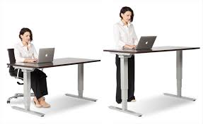 Stand Up Computer Desk Adjustable Outstanding Computer Desk Best Standing Office With Adjustable