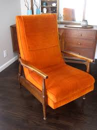 furniture reclining club chair mid century recliner modern