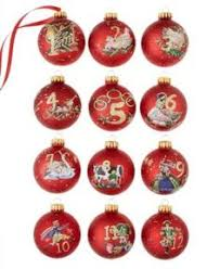 jim shore twelve days of ornaments set of 12 retired