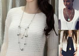 wear long necklace images How to wear a long necklace jpg