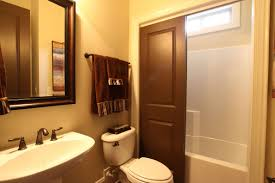 tranquil bathroom ideas tranquil small bathroom apartment with wood framed mirror