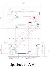 spa floor plan design sample 25 aquatic mechanical engineering 800 766 5259