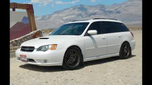 2005 subaru legacy custom modified 2005 subaru legacy gt wagon one take youtube