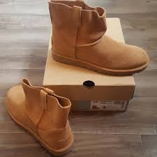 s ugg australia mini zip boots ugg shoes unlined mini perforated boot poshmark