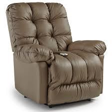 brosmer power lift reclining chair with power tilt headrest by