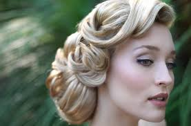 vintage bridal hair vintage wedding hair medium hair styles ideas 47930