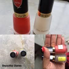revlon matte coral nail polish and matte top coat review