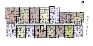 113 newbury units by floor our second floor units include sections from the first floor townhouses click on a condominium unit to view a larger closeup of the floor plan and unit