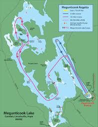 map of camden maine the megunticook regatta maine rowing association