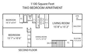 1100 square feet pennswood apartments townhomes