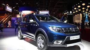 sandero renault stepway dacia sandero logan mcv facelifts at 2016 paris motor show