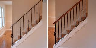 metal stair rails and banisters stair banister the part of