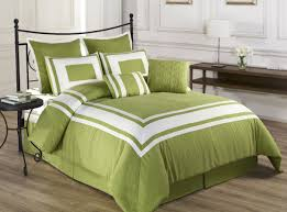 bedding set amazing green and white bedding beach themed bedroom