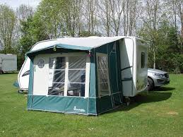 Isabella Caravan Awning Caravan Awning Isabella Minor Porch Awning In Green Grey In
